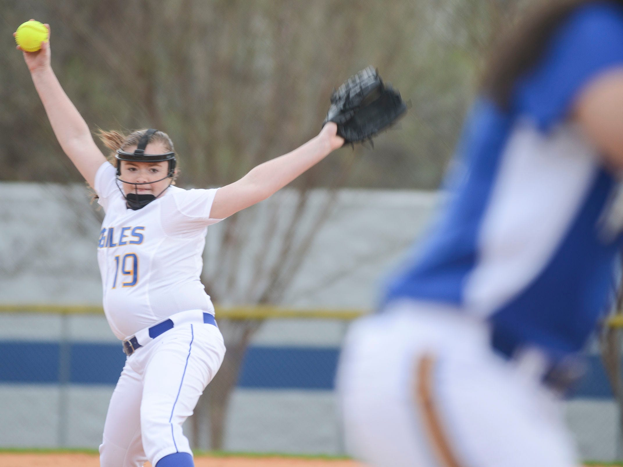 Jackson Christian's Jenna Arnold is already starting at pitcher as an eighth-grader.