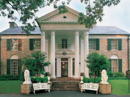 More than 650,000 visitors make the pilgrimage to Elvis Presley's Graceland mansion each year, making it second only to the White House as the most-visited home in the U.S., according to People.com.