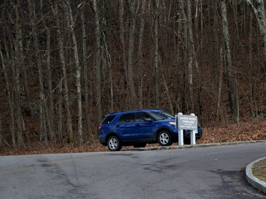 A body was discovered off the Ravens Roost Overlook on Sunday, Jan. 10, 2016.