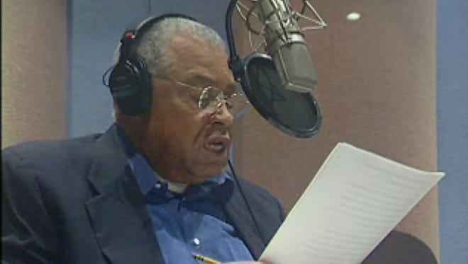 "James Earl Jones reads ""The Gettysburg Address"" in 2005."