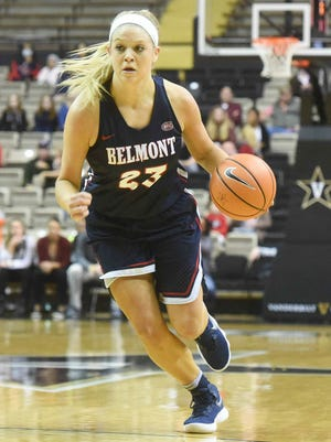 Kylee Smith has helped Belmont crack the Associated Press Top 25 for the first time in school history.