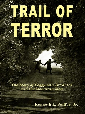 "The cover of Ken Peiffer's book, ""Trail of Terror"""