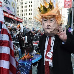 Chaos crowns Trump's first month: Our view