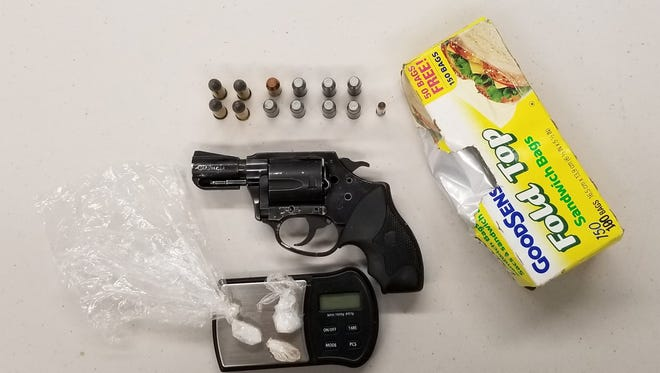 Officers withVisalia's Special Enforcement and Narcotics units served a narcotics-related search warrant at a home in the 1000 block of West Walnut Avenue.