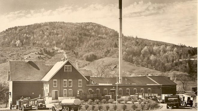 Circa 1930s photo of creamery in Richmond.