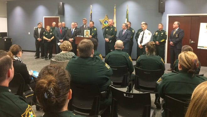 Meeting in Largo Jan. 17, 2018, to discuss Florida public safety.