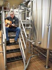 Chris Laumb, brewmaster at the Beaver Island Brewing