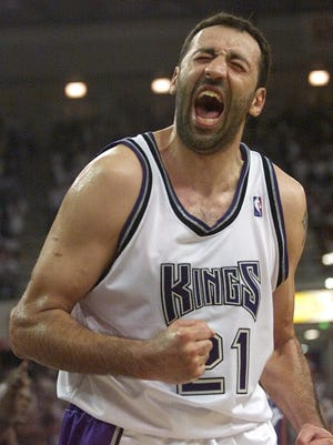 Vlade Divac made his lone All-Star appearance while with the Kings in 2001.