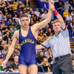 U-M's Amine excited about Catholic Central wrestling homecoming