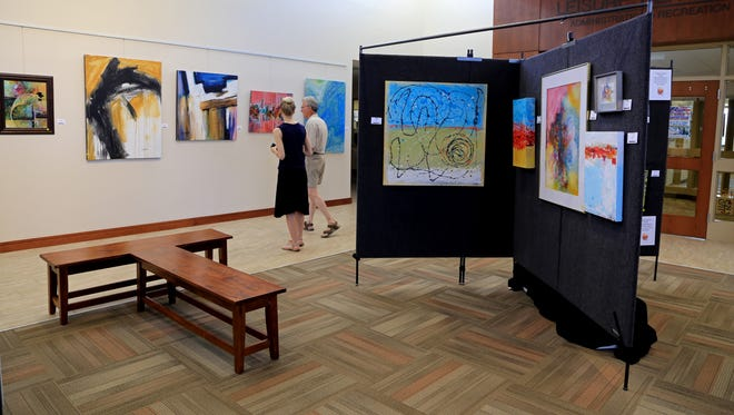 "The Southern Utah Art Guild's ""Only Abstraction"" show is on display at the Red Cliff Gallery in St. George until the end of August."