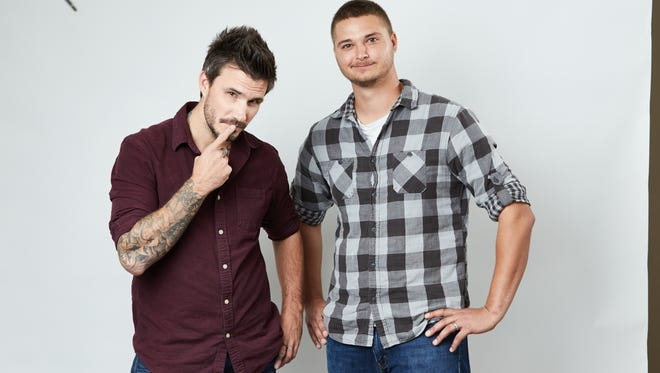 Jake & Tanner -- that's Jake Kelly, left, and Tanner Jay -- return to the local airwaves on Monday as the new morning show co-hosts at KISS-FM (95.9).
