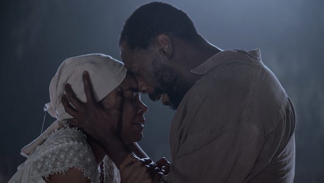 """Gabrielle Union and Colman Domingo in """"The Birth of a Nation."""""""