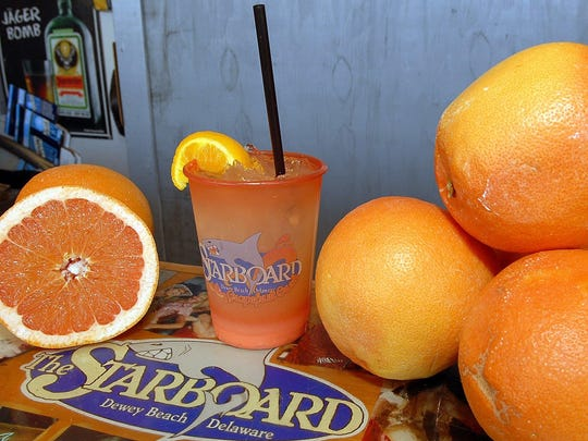 In addition to the Lemon and the original Crush, The Starboard offers other flavors like Mango, Grape and Three Olives' Fruity Loopy.