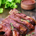 Stock image of ribs.