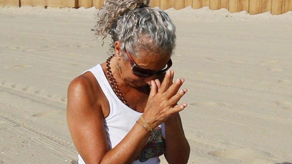 Carmel Calcagno, owner of Yoga Anjali in Belmar, offers
