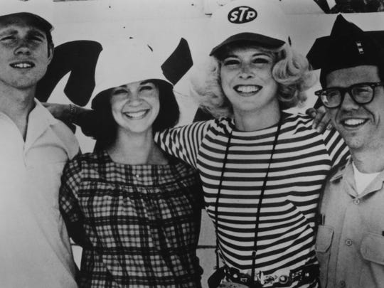 """Ron Howard (from left), Cindy Williams, Candy Clark and Charles Martin Smith returned for 1979's """"More American Graffiti."""" No one cared."""