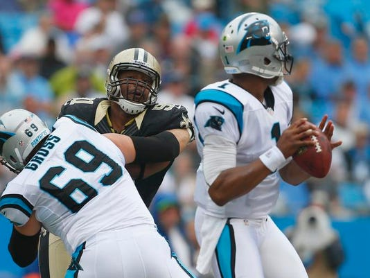 Panthers Newton Blindside Football