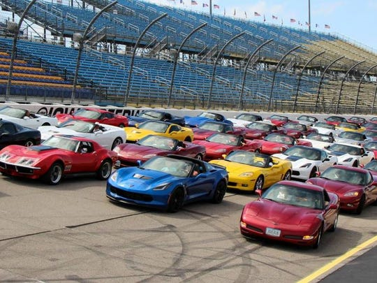 Carl Moyer of Karl Chevrolet in Ankeny sponsors a three-day event annually for Corvette enthusiasts.