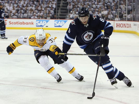 Nashville Predators v Winnipeg Jets - Game Four