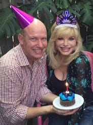 Terry Ray and Loni Anderson depict son and mother in