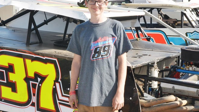 Michael Ledford showed maturity in winning the track title for modifieds at Farmer City this season.