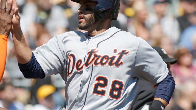 Detroit Tigers'   J.D. Martinez