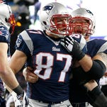 TE Rob Gronkwoski (87) is the Patriots' prime downfield weapon.