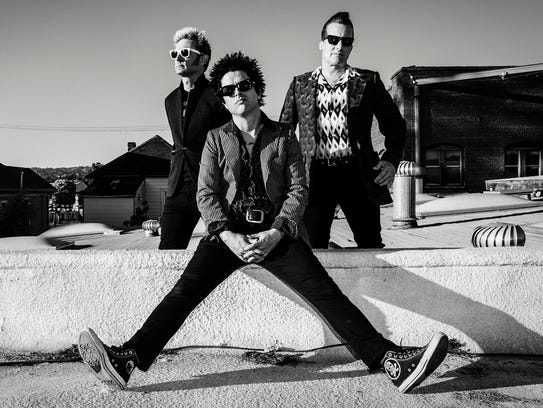 Green Day will perform at 7 p.m. March 2 at the El