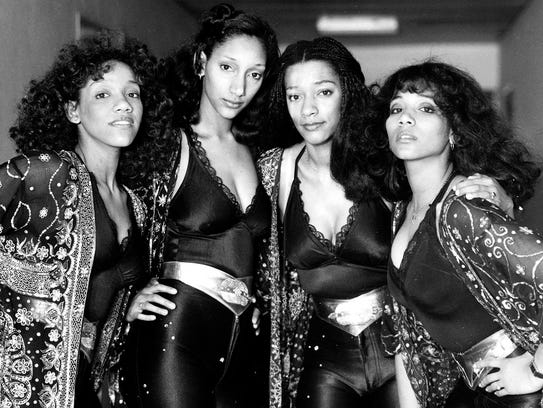 Sister Sledge (featuring sister Joni, second from right)