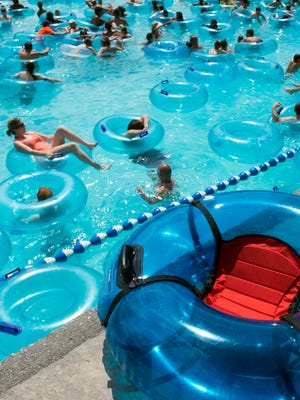 Dollywood's Splash Country water park has introduced two new types of tubes for people with accessibility or mobility issues. One type of tube is fitted with a seat and the other tube has a seat that is built in.