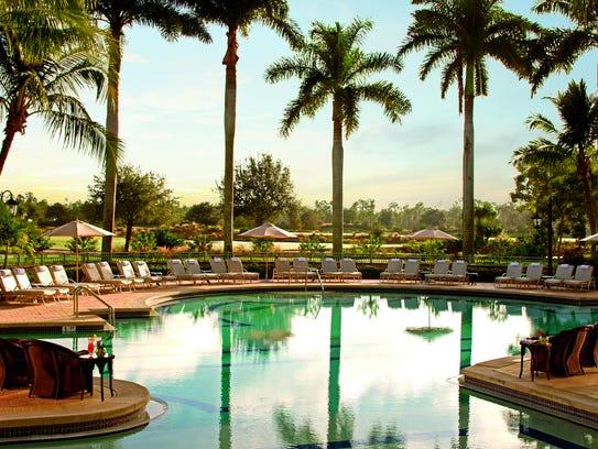 Pool at The Ritz-Carlton Resorts of Naples.