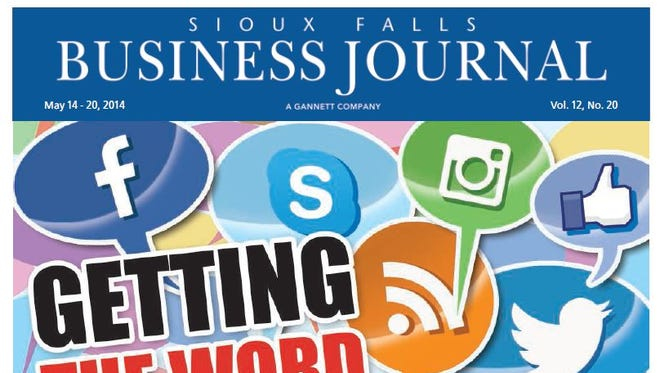 The May 14 cover of the Sioux Falls Business Journal.
