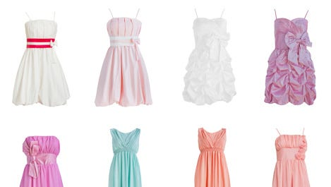 Dress isolated