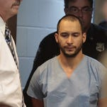 Steven Alicea, 33, of Congers is pictured in a police mug shot after his arrest Monday.
