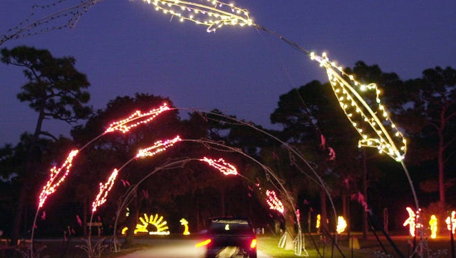 Space Coast Lightfest is still blazing, despite a generator stolen from Wickham Park over the weekend.