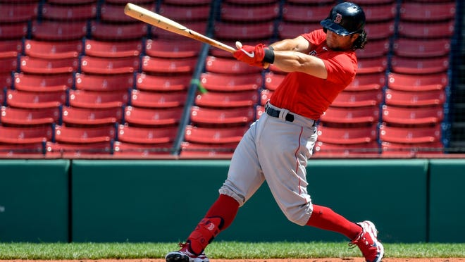 Red Sox left fielder Andrew Benintendi needs to produce more from leadoff is he's to stay there in the batting order.