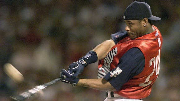 Ken Griffey Jr. won his third Home Run Derby title at the 1999 All-Star Game in Boston.