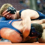 Photos: Action from District 3 Class 3A wrestling tournament