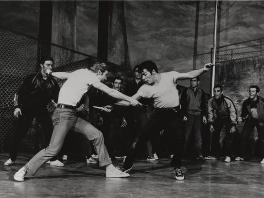 """""""West Side Story,"""" 1957"""