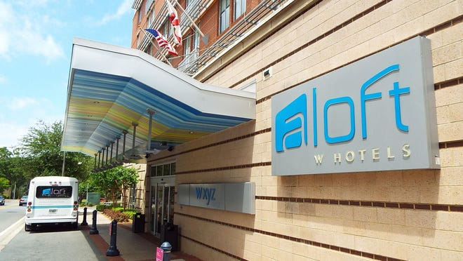 The Aloft Hotel, 400 N. Monroe St., willwill celebrate featured local artists Pattie Maney and Donny Crenshaw from 5-7 p.m. Thursday.
