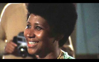 """Finally hitting theaters April 19, Aretha Franklin's """"Amazing Grace"""" film was shot in 1972 in conjunction with her best-selling gospel album."""