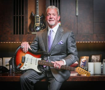 Jim Irsay owns more than just the Indianapolis Colts.