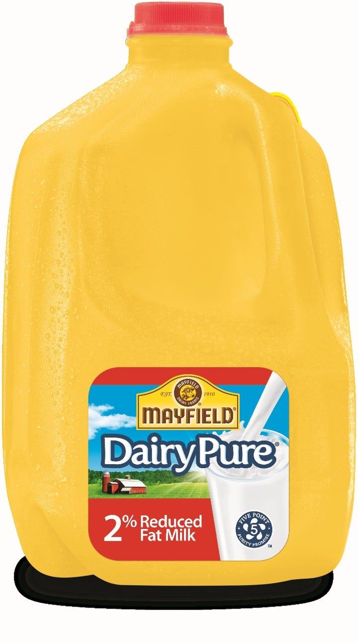 Walmart stops selling Mayfield Milk