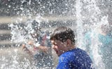 Two splash fountains will open Saturday during warm weather in Salem.