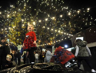 The annual tradition will leave seven Old Town blocks aglow with white holiday lights.