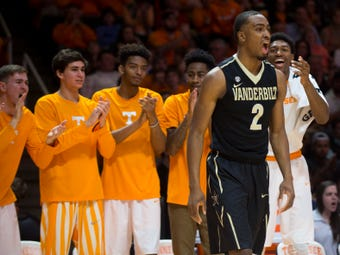 Vanderbilt senior Joe Toye and coach Bryce Drew talk about the heated rivalry with Tennessee, which will be rekindled with the No. 1 Vols visiting.