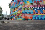 She filmed her video in front of a Gulch mural, now's she's being sued