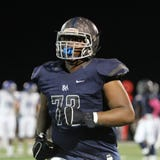 Franklin Road Academy's Tymon Mitchell's size and football intelligence lands him as one of the top football prospects in Middle Tennessee.