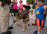 Chief Woods shared letters of support for K-9 Ozi at the McSherrystown Borough council meeting on July 11.