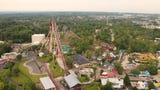 Construction continues at Kings Island, as crews are busy preparing the 364-acre amusement park in Mason for opening day on April 20th. Provided/ Kings Island